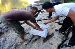 The decapitated body of a baby girl was found floating in a river in North Denpasar.