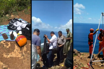 Bali Authorities Searching For Tourist Who May Have Jumped Off Cliff