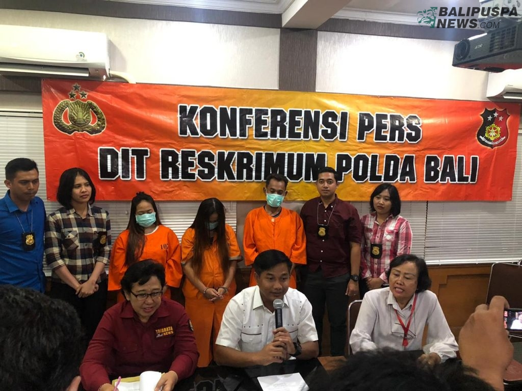 The Bali Regional Police have officially arrested three child traffickers (2)