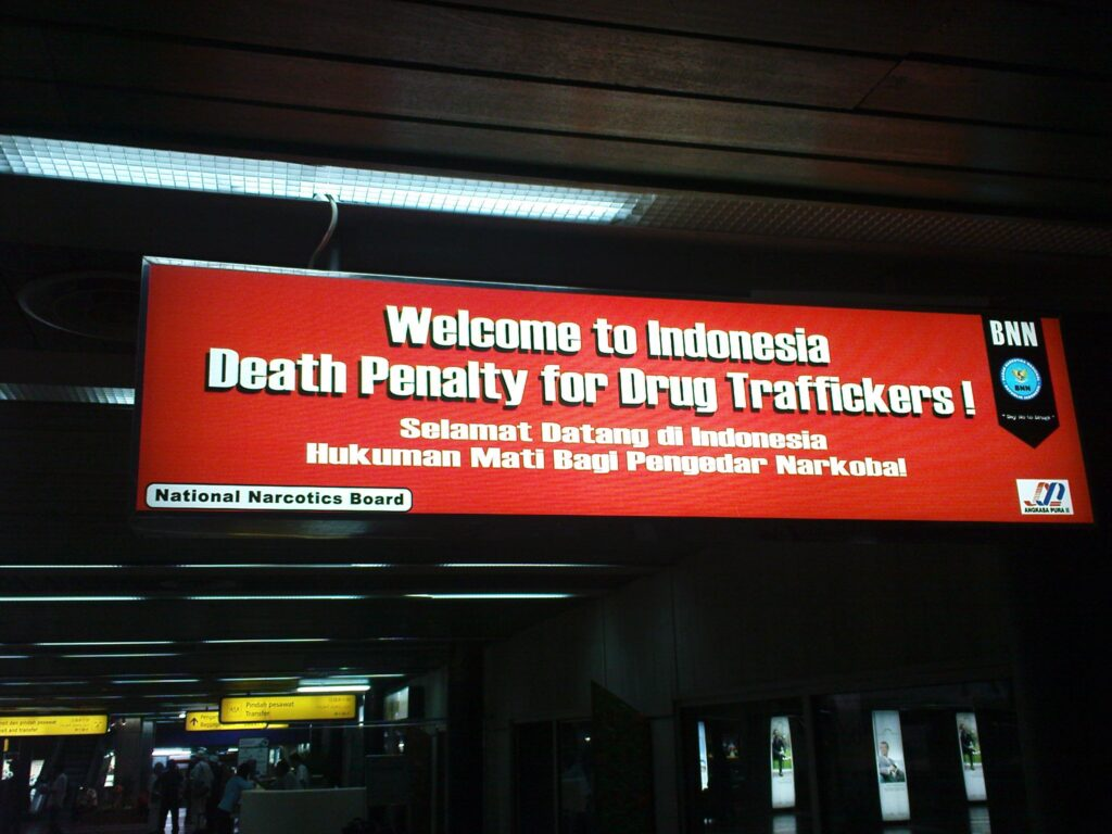 death penalty for drug smugglers