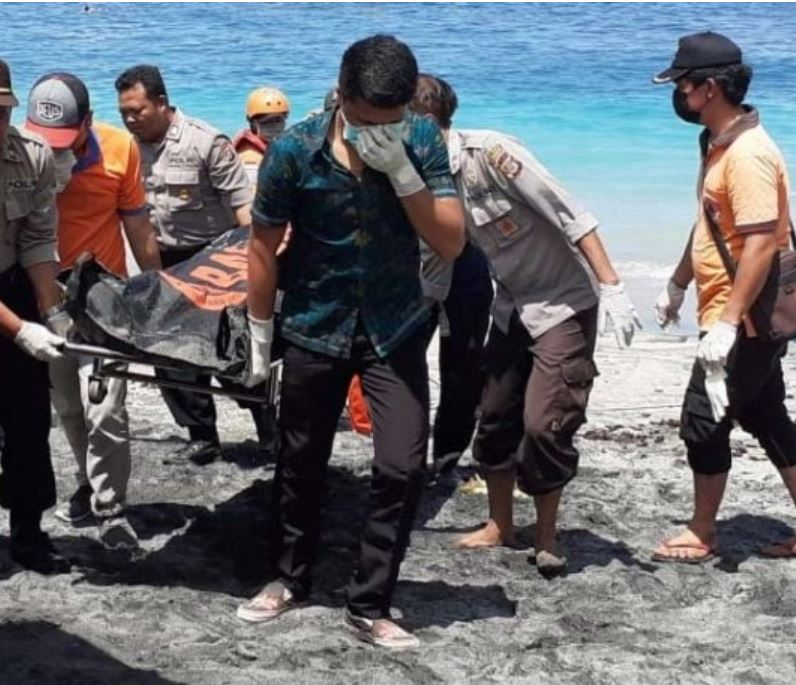 italy tourist drowned bali