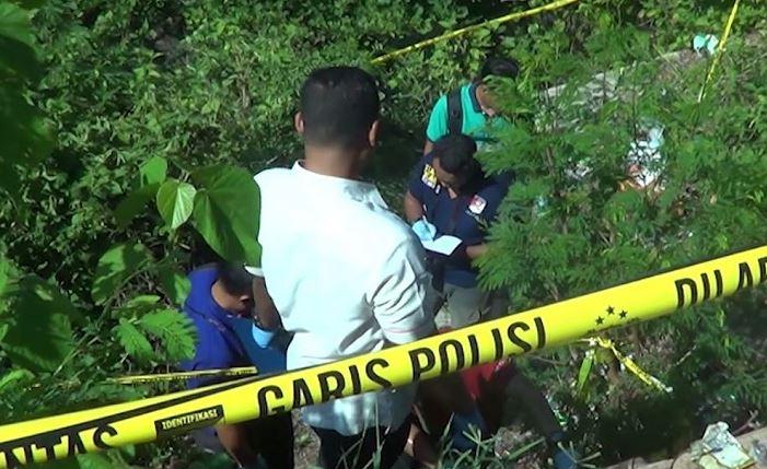 dead woman found in trash bag in lombok