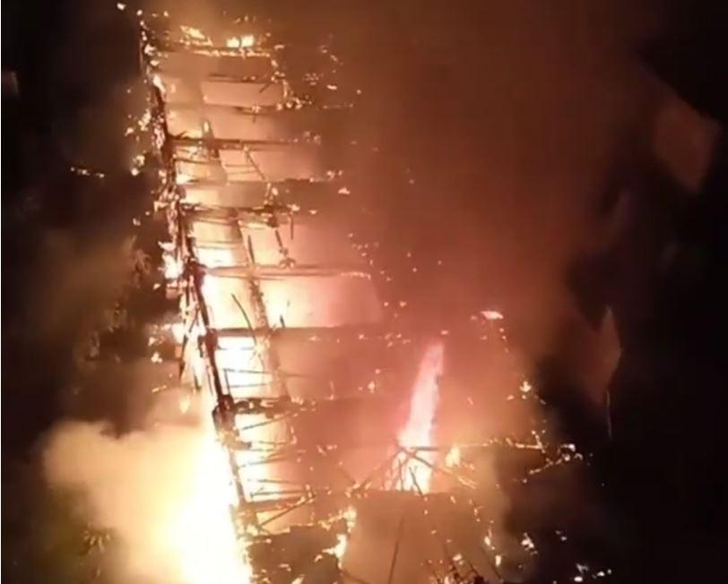 fire in boarding house kuta