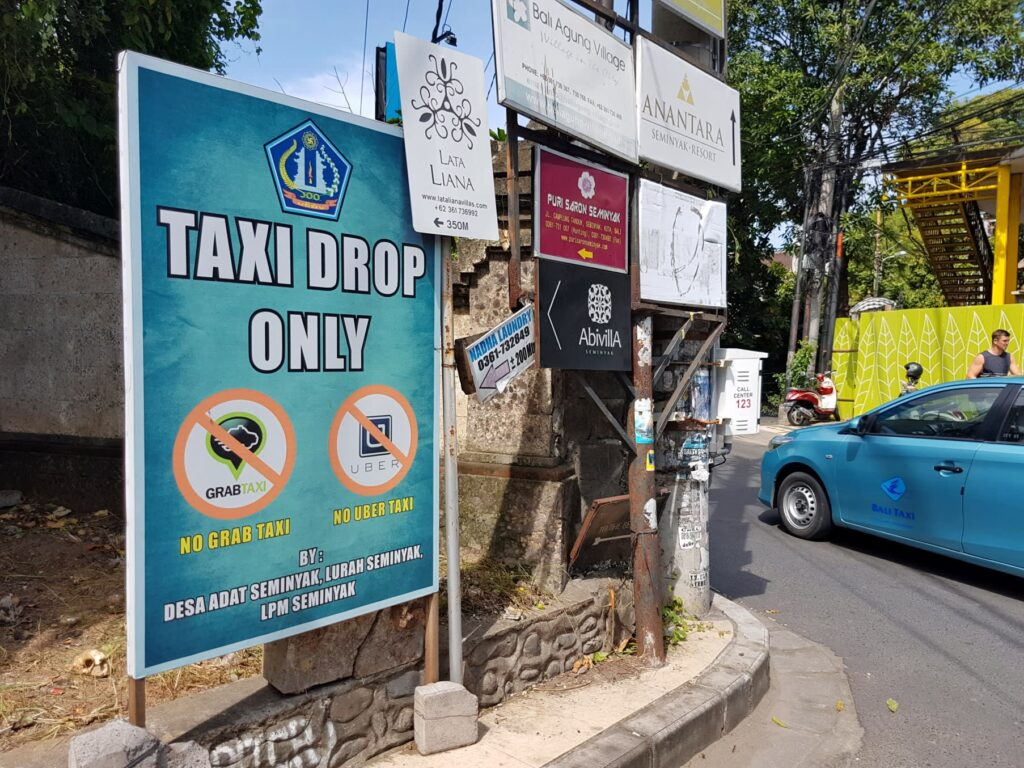 Bali taxi only