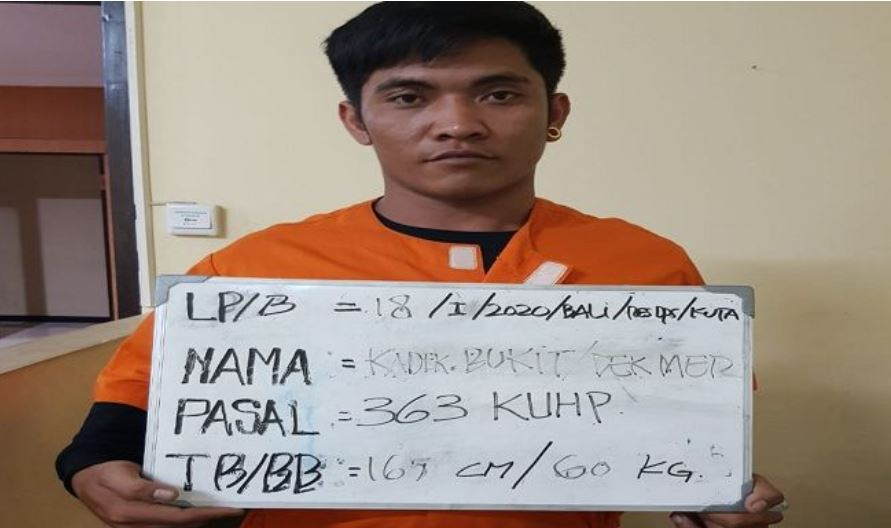 serial snatcher seminyak arrested for 6th time