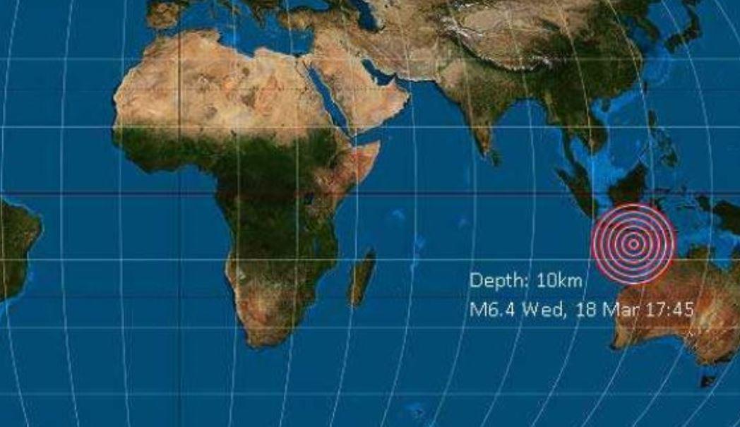 A 6.2-magnitude earthquake jolted Bali resort island