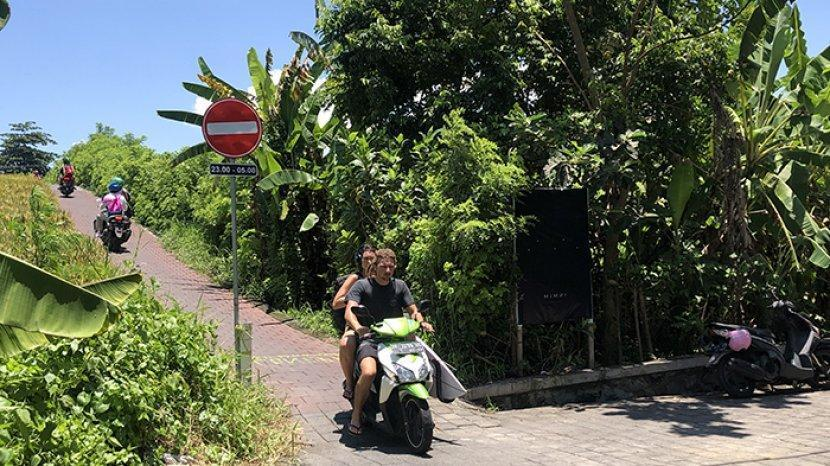 Canggu-Pererenan Shortcut will be Closed at Night