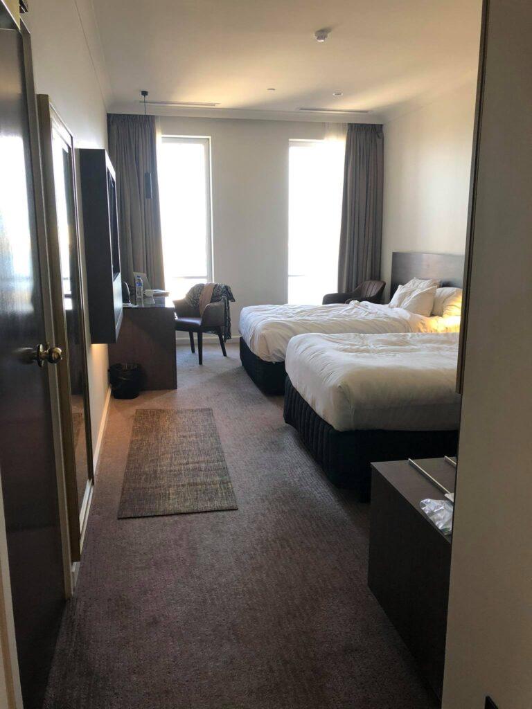 duxton hotel room state quarantine australia