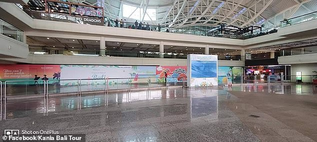 empty bali airport