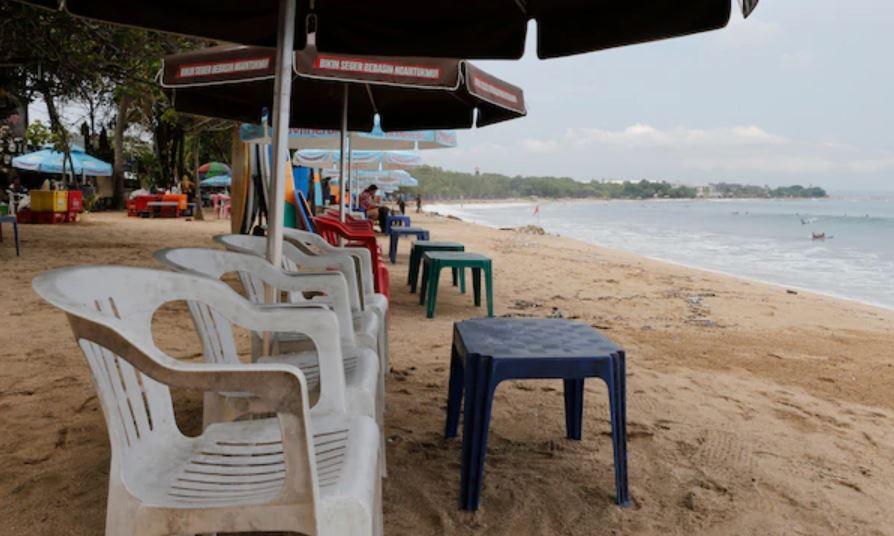 empty beach bali