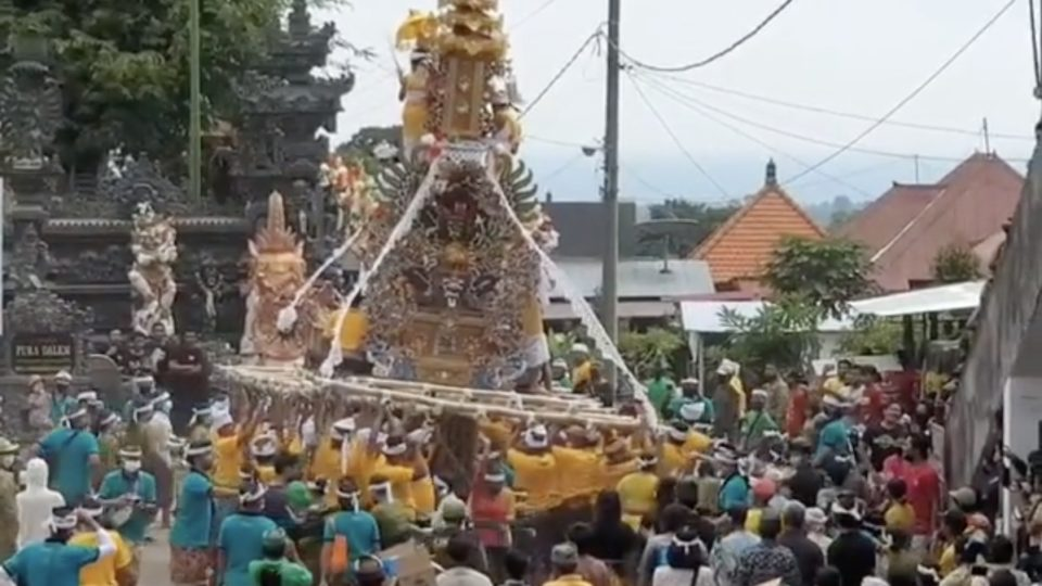 Bali Man Faces 1 Year In Prison For Throwing Ceremony That Hundreds Attended