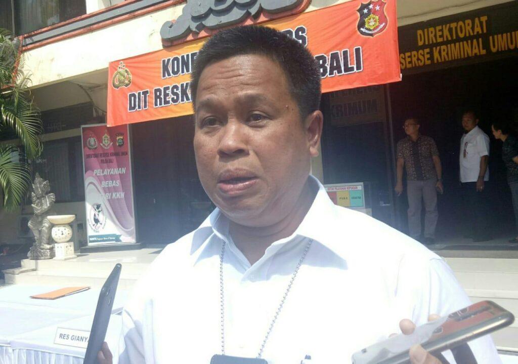 Bali Police Commissioner Andi Fairan