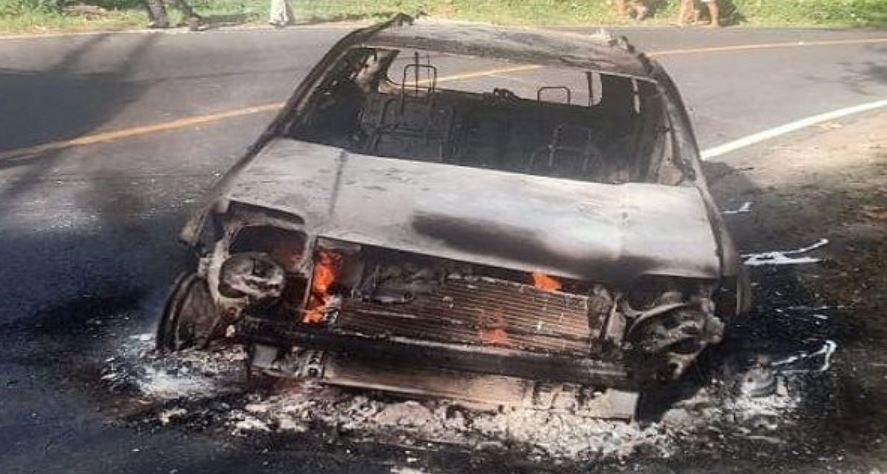 French National's Car Bursts Into Flames After Leaving Repair Shop In Bali