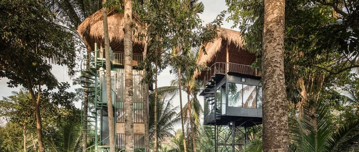 Treehouse Hotel In Bali Combines Comfort WIth Adventure