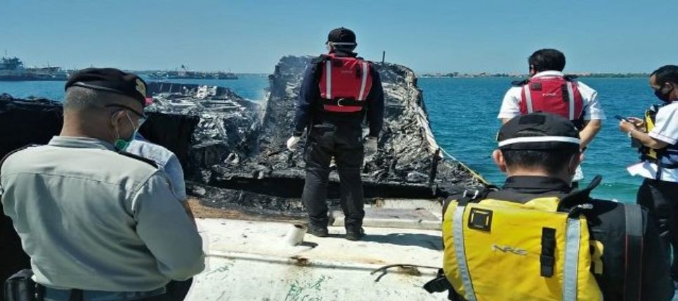 Two Foreign Owned Fishing Boats Destroyed By Fire