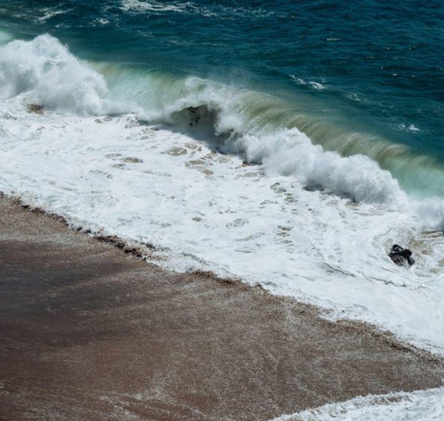 large waves bali