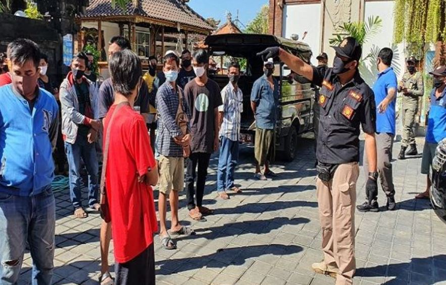 29 Men Sent Back To Java After Coming To Bali From Red Zone