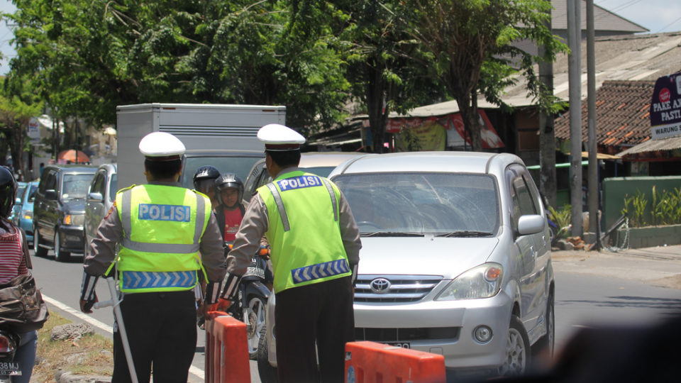 police checkpoint bali