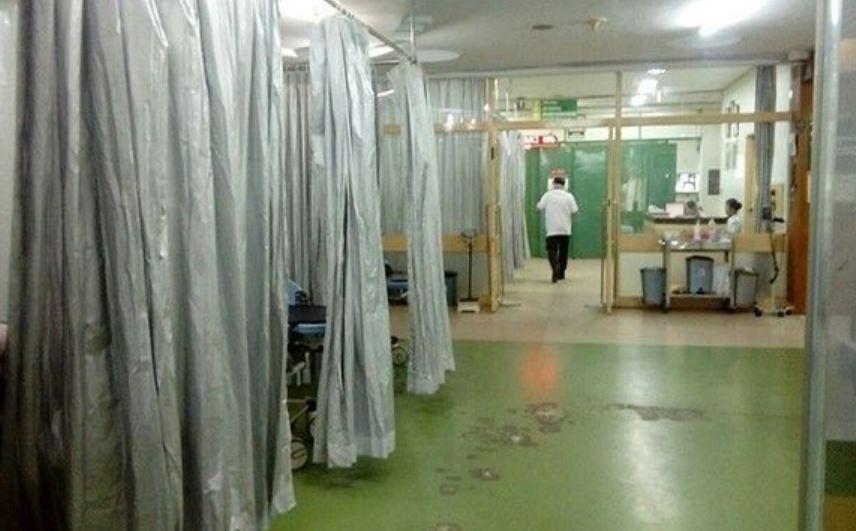 Bali hospital emergency room
