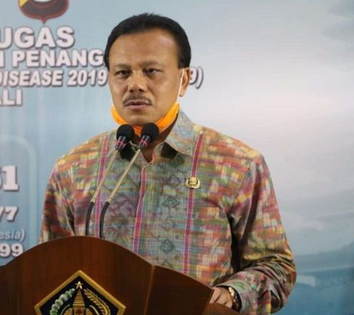 Chairman of the Bali Covid-19 Task Force for the Acceleration of Handling Dewa Made Indra