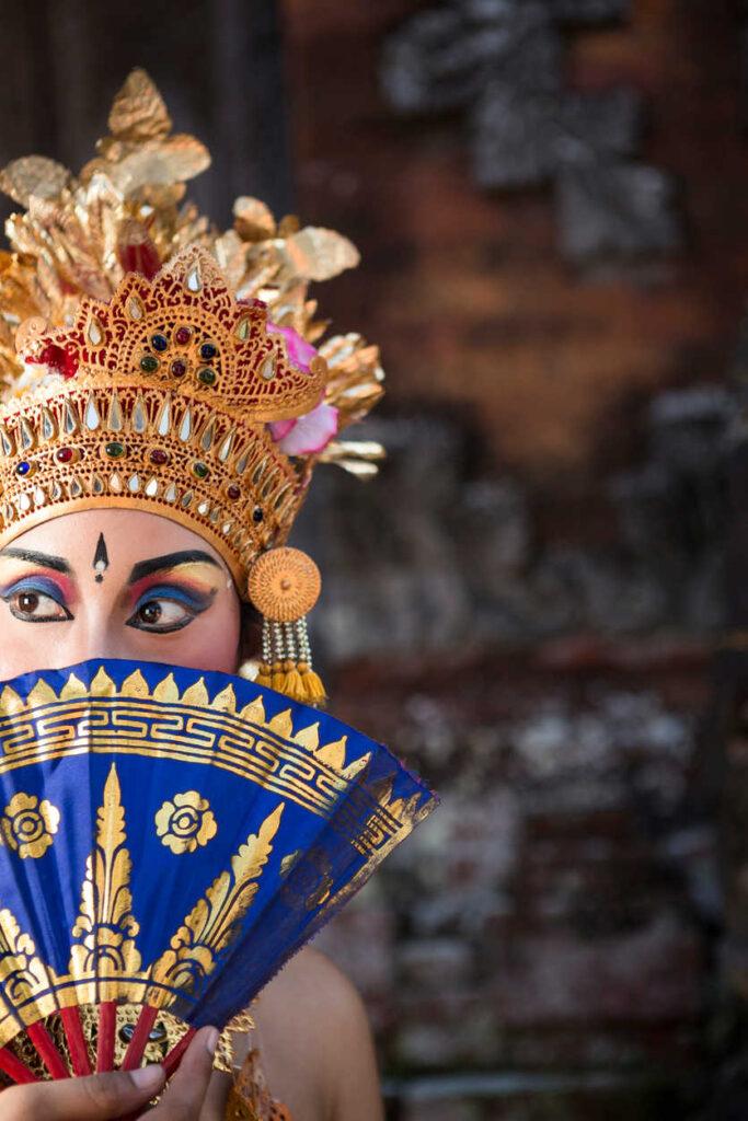 Bali Traditional dancer