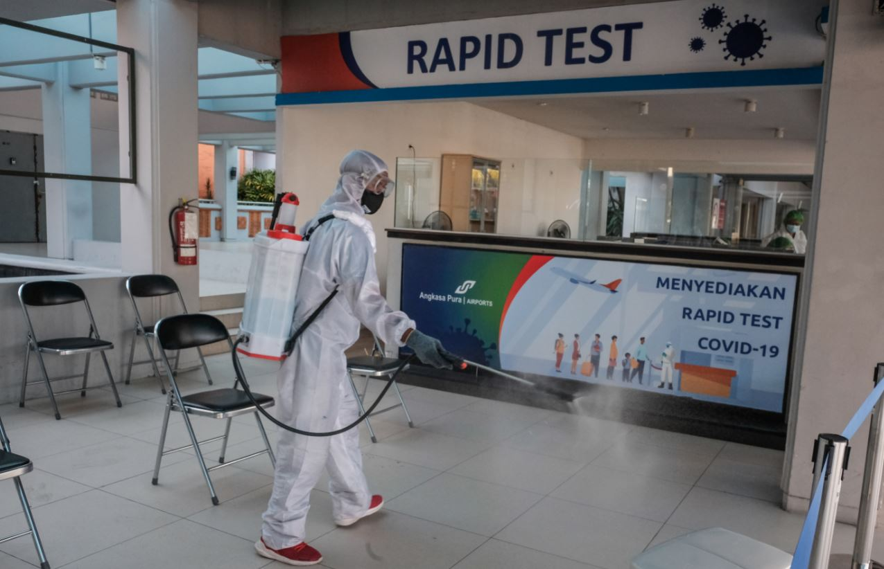 All Tourists Entering Bali Will Now Have Mandatory Antigen Test