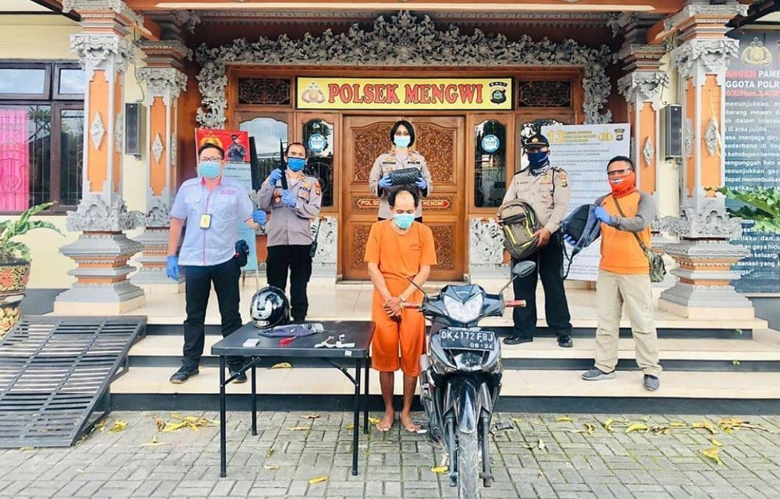 Bali Police Catch Serial Thief In Canggu
