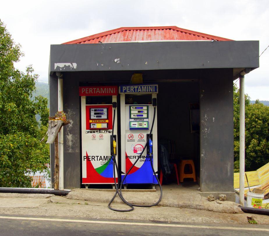 Bali gas station