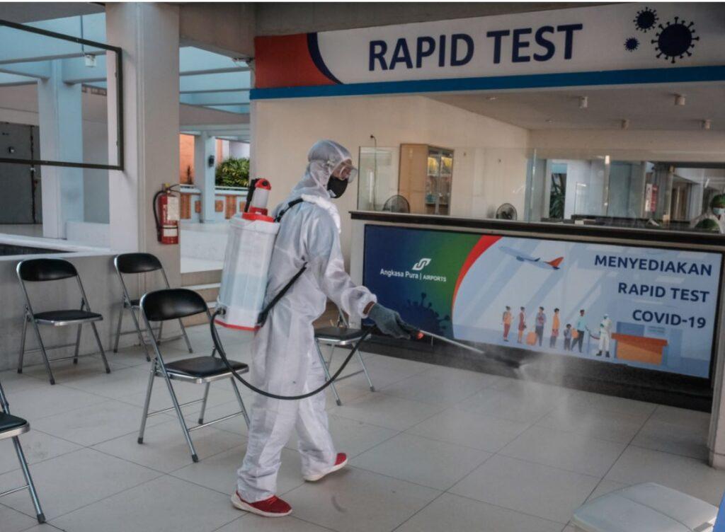 Pcr testing center at bali airport