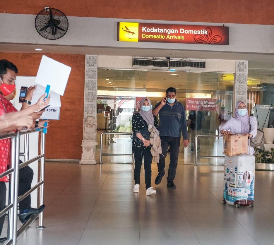 bali tourist arrival