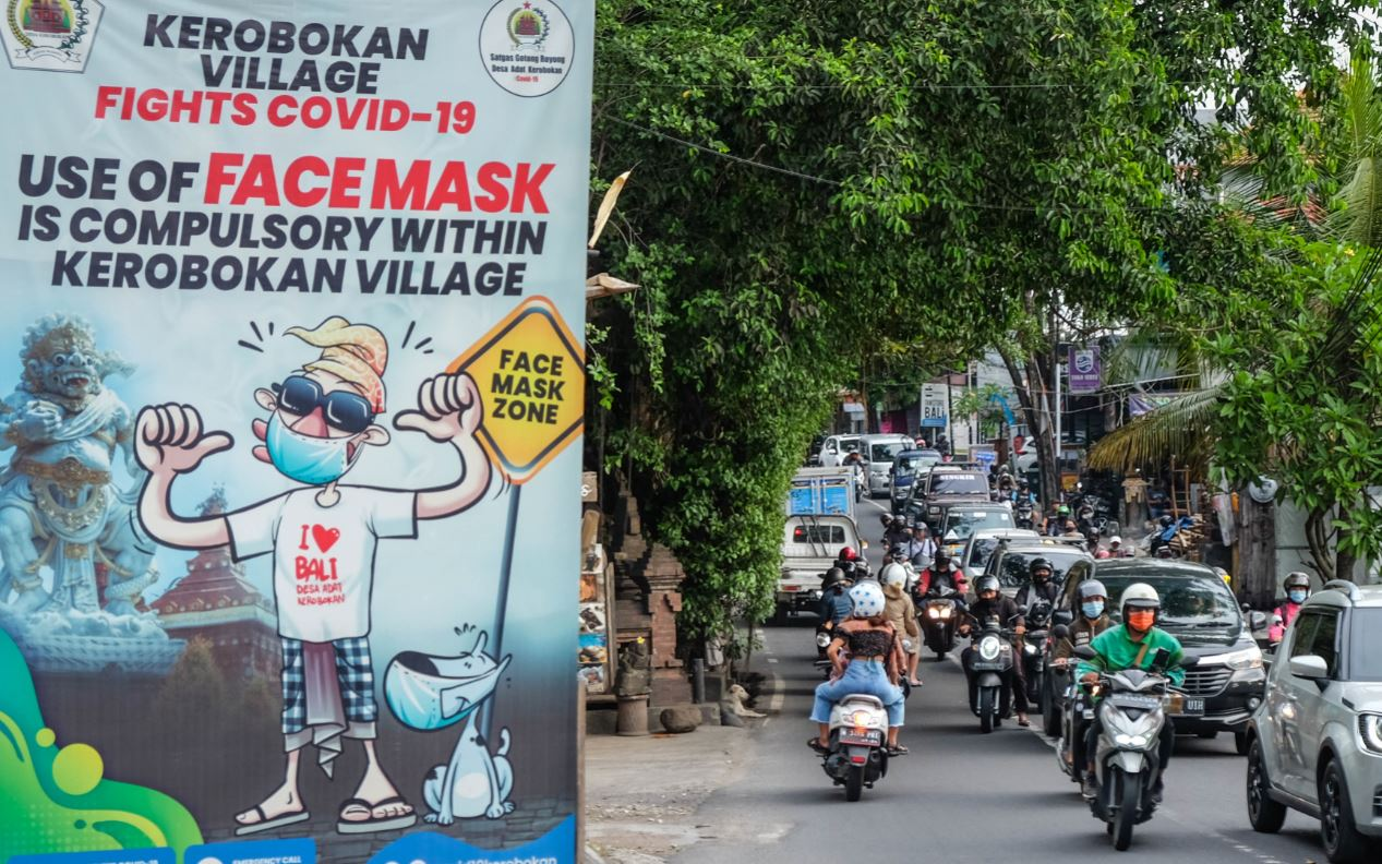 Bali Community Organization Starts Campaign To Prepare Island For Tourism Reopening