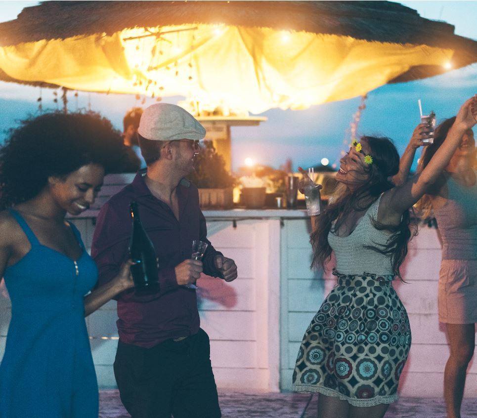 Bali partying