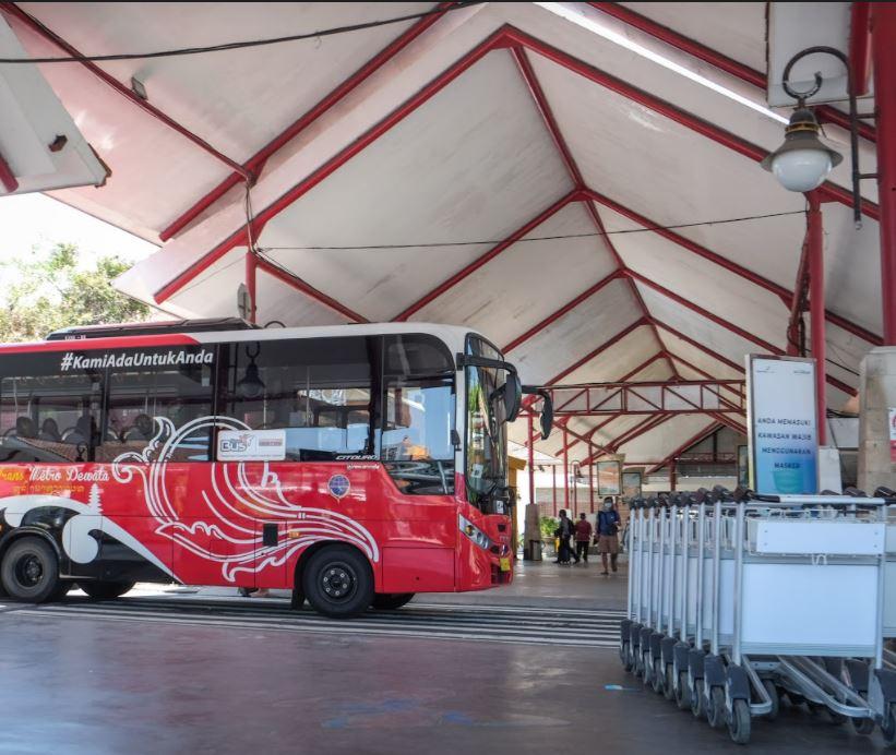 Bus at airport