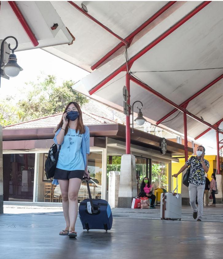 bali airport arrivals
