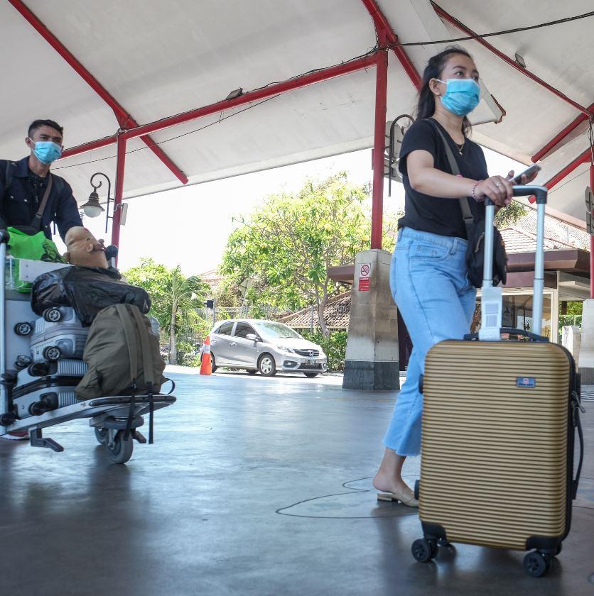 bali domestic travelers mask