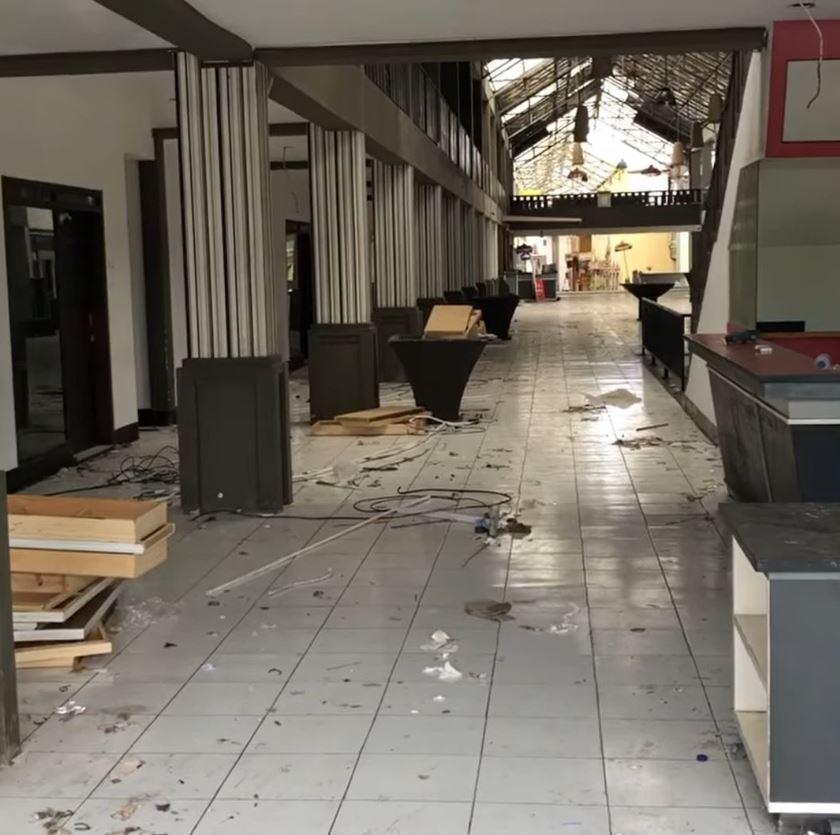 broken down kuta hotel