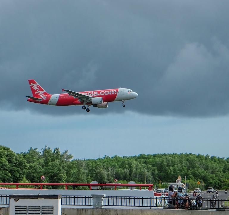 Air Asia plane Bali
