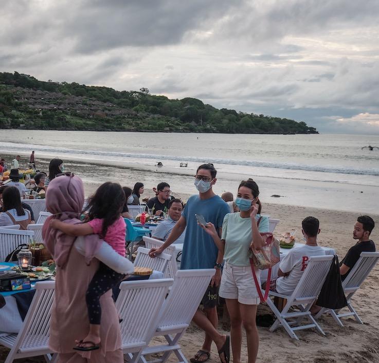Bali beach event