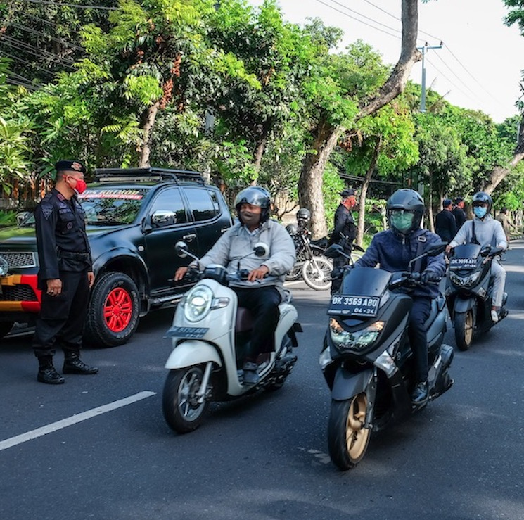 Bali traffic police