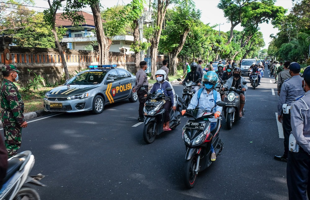 Bali Authorities Compare Fatality Rates Of Vehicle Accidents And COVID-19