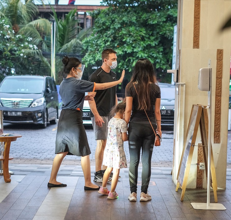 bali tourists safety measures