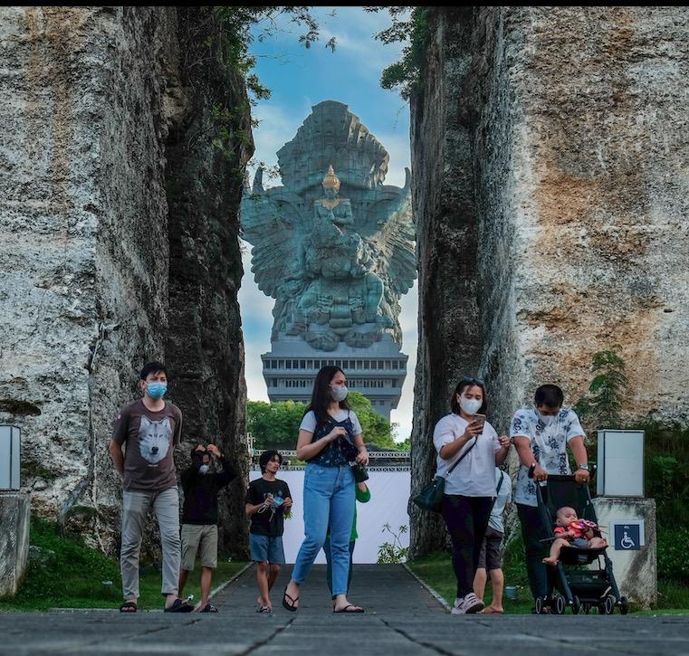 domestic tourists Bali