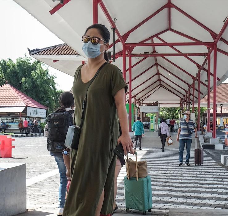 domestic tourists Bali airport