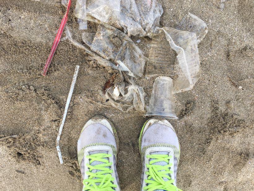 plastic waste in Bali