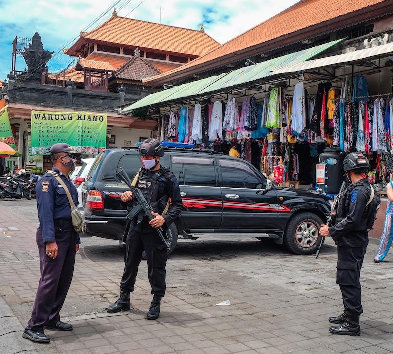 police in Ubud