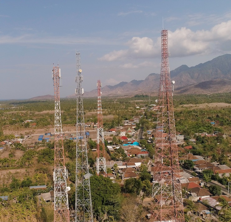 wifi towers Bali