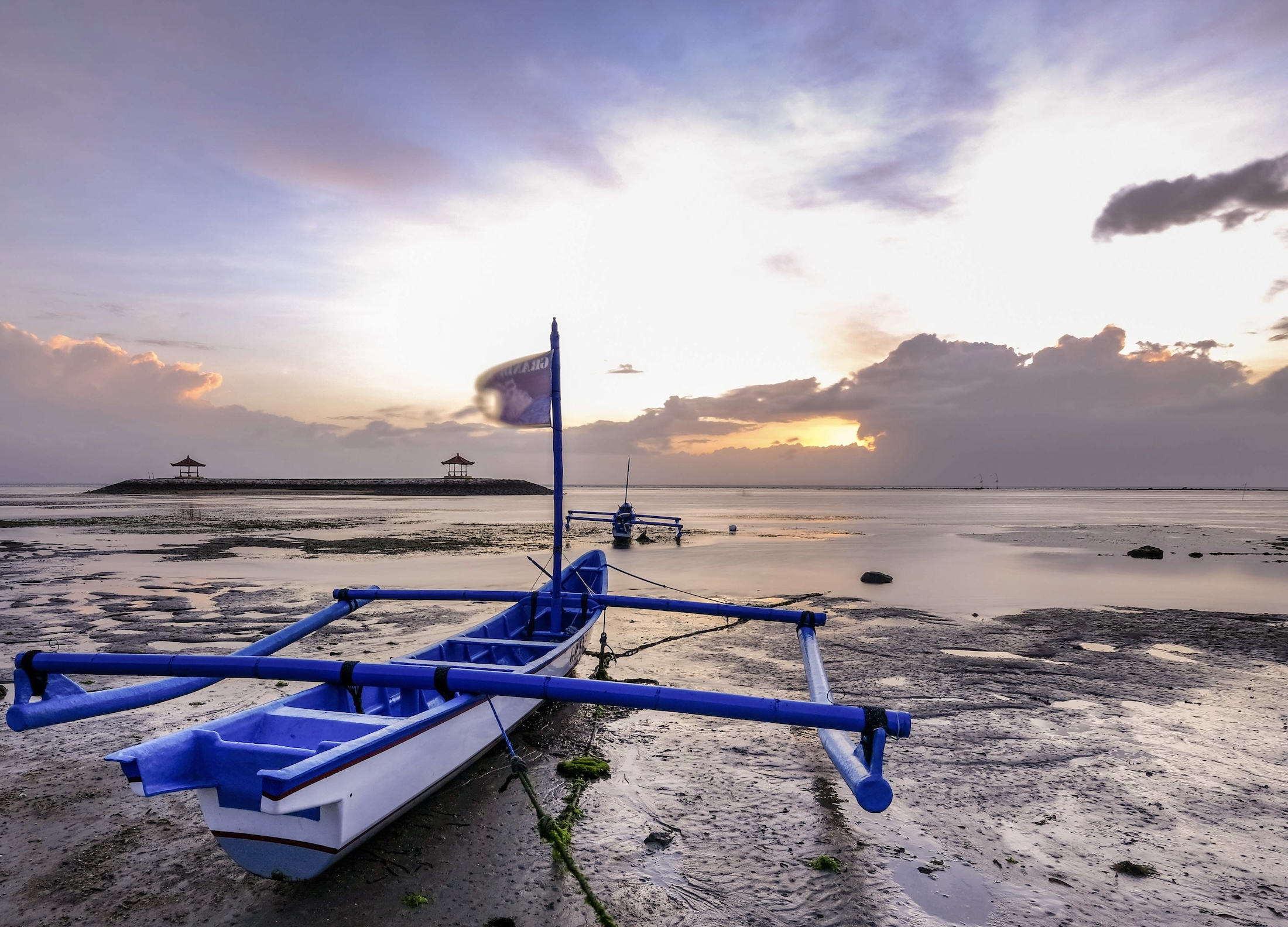 Abandoned Boat Found By Local Fisherman In Bali
