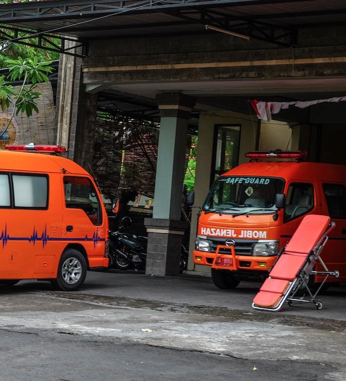 Bali ambulances