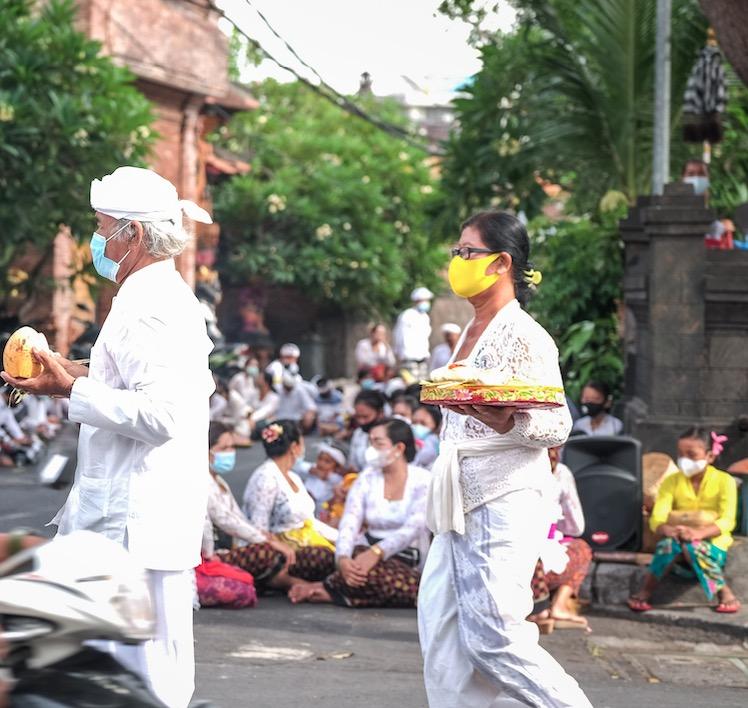 Bali locals tradition