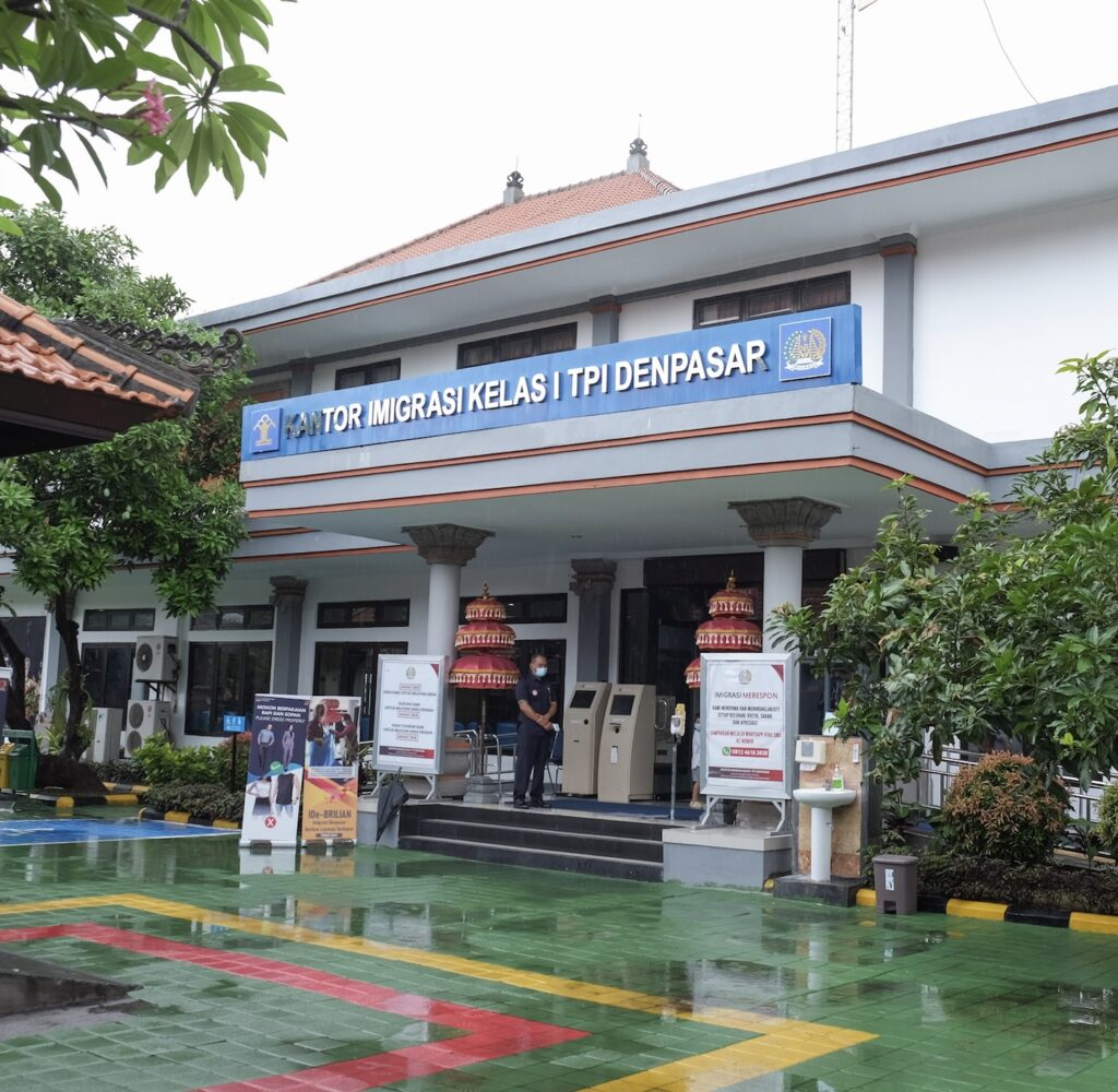 Denpasar Immigration office Bali